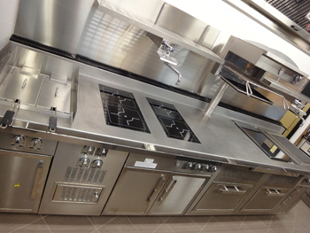 Fully Electric Cooking Range installed at New Hotel Verta