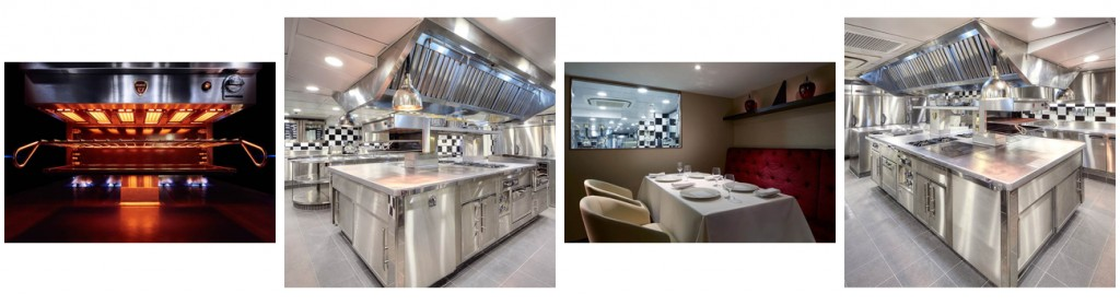 New Bespoke Charvet cooking suite for Sebastien Lepinoy