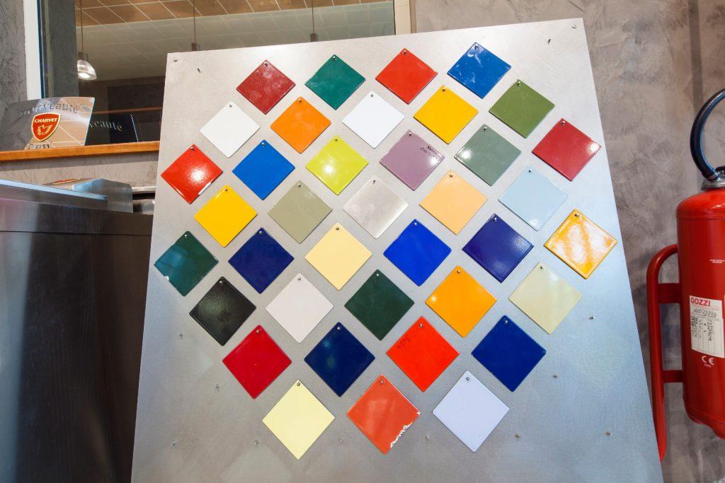 charvet colour chart