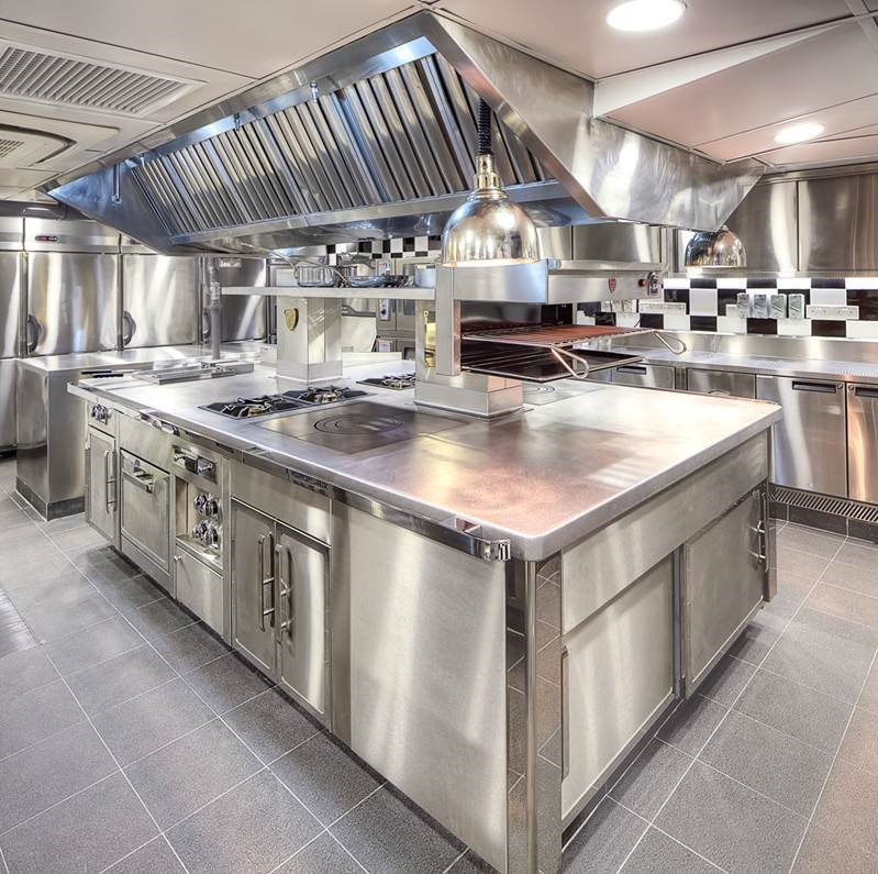 Charvet bespoke island cooking suite Singapore